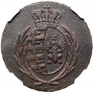 Księstwo Warszawskie, 3 grosze 1811 - NGC AU