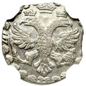 Russia, Peter I, Altin 1718 - NGC MS64
