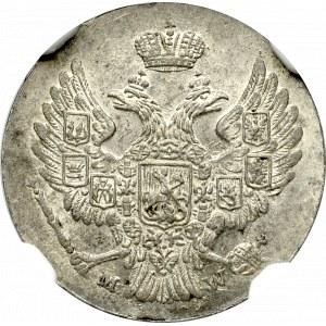 Zabór rosyjski, Mikołaj I, 5 Groszy 1840 - NGC MS66