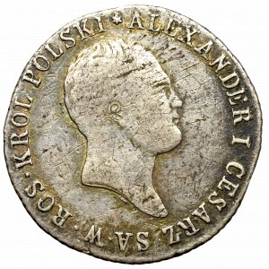 Królestwo Polskie, Aleksander I, 1 złoty 1818 IB