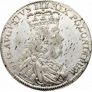 August III Sas, Szóstak 1753 - Sz - rzadki