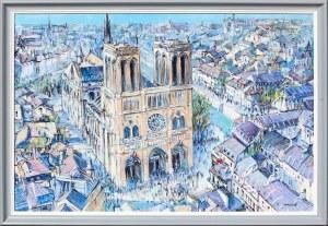 Piotr Rembieliński, Katedra Notre Dame w Paryżu, 2019