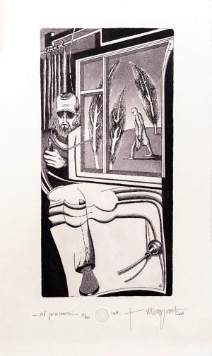 Jerzy Waygart, W pracowni, 2008