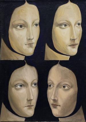 Adam Rokowski (1977), Cztery portrety Cecylii (2011)
