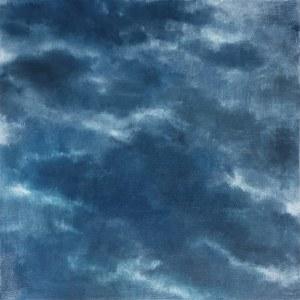 Lidia Wnuk, Notatki z patrzenia w niebo (Pochmurne niebo 2), 2019