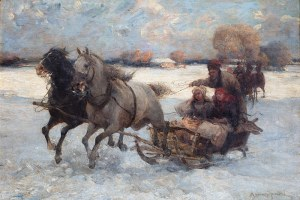 Alfred Wierusz-Kowalski (1849 Suwałki - 1915 Monachium), Sanna