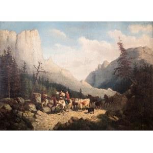 Józef Jaroszyński (1835 Lwów – 1900 Monachium), W tatrzańskiej dolinie
