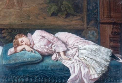 Władysław Bakałowicz (1833 Chrzanów - 1903 Paryż), Śpiąca