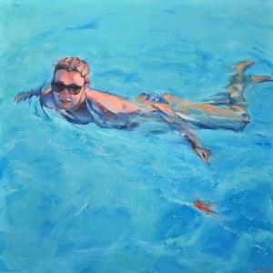 Rafał Knop, Madame Ev 09 z cyklu Swimming Pool, 2019