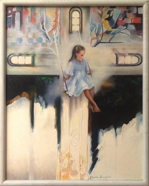 Alina Dorada-Krawczyk, Dziewczynka na huśtawce, 1995