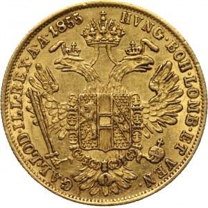 Austria, Franz Joseph I, Ducat 1855 A, Vienna