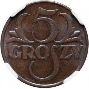II RP, 5 groszy 1931, Warszawa