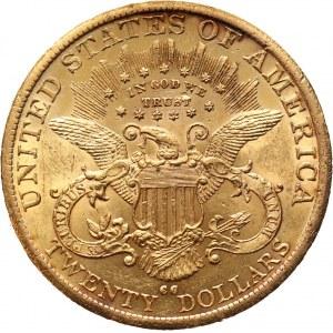 USA, 20 Dollars 1890 CC, Carson City