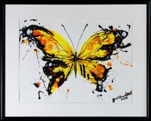 Jose Angel Hill, Yellow butterfly