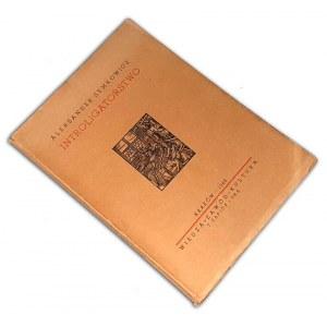 INTROLIGATORSTWO : SEMKOWICZ- INTROLIGATORSTWO wyd. 1948r.