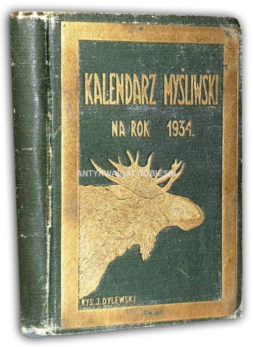 KALENDARZ MYŚLIWSKI 1934
