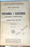 NORKOWSKA- PIEKARNIA I CUKIERNIA wytworna i gospodarska wyd.1910
