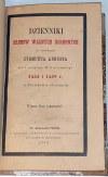 DZIENNIKI SEJMÓW WALNYCH KORONNYCH ZA PANOWANIA ZYGMUNTA AUGUSTA wyd. 1869