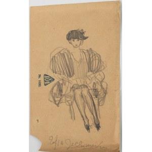 ZOFIA JACHIMECKA, ok. 1905