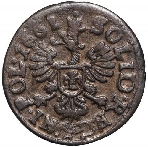 Jan II Kazimierz, Szeląg koronny 1661 Kraków