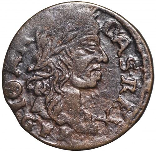 Jan II Kazimierz, Szeląg litewski 1666 Kowno