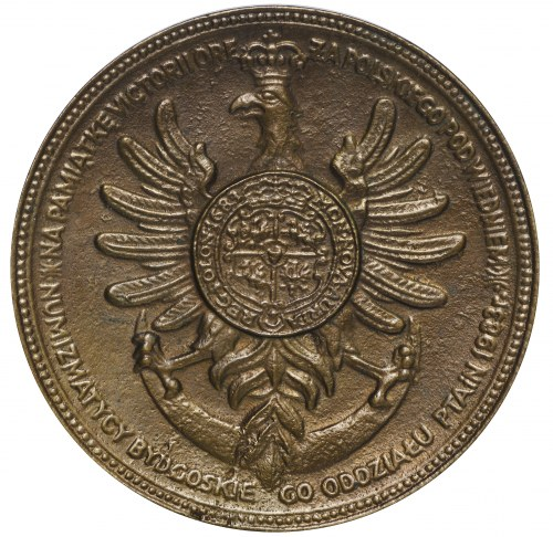 PRL medal 300 lat Wiktorii Wiedeńskiej 1983 PTN Bydgoszcz