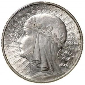 II Rzeczpospolita 10 złotych 1932 Polonia Londyn PCGS MS62