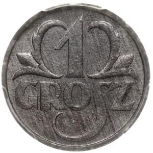 Generalne Gubernatorstwo 1 grosz 1939 PCGS MS64