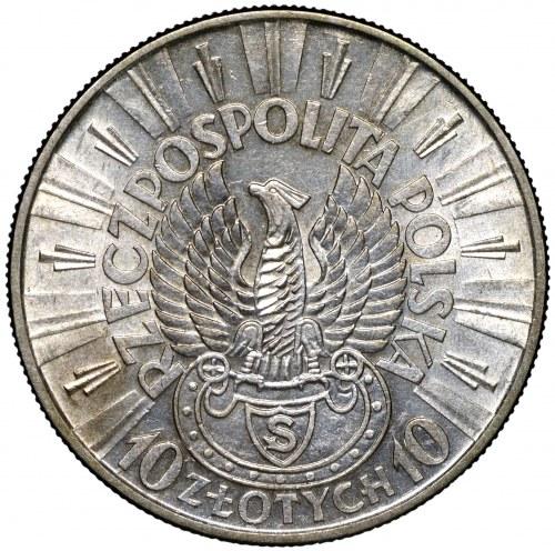 II Rzeczpospolita 10 złotych 1934 Strzelecki ex. NGC AU58