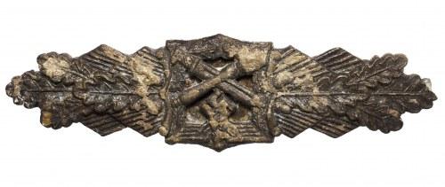 III Rzesza, szpanga za walkę wręcz (Nahkampfspange) brązowa Peekhaus/Gablonz