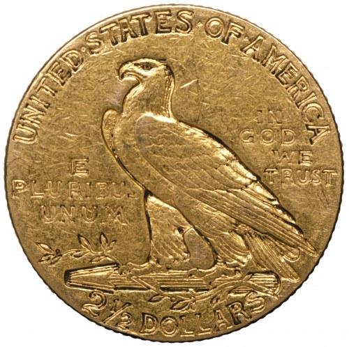 Stany Zjednoczone, 2,5 dolara 1910 Indianin