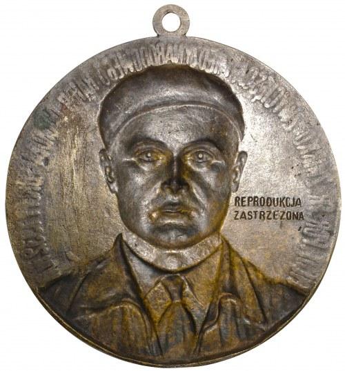 II RP plakieta Franciszek Żwirko 1932
