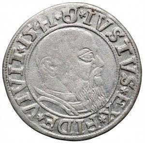 Prusy Książęce, grosz 1541 Królewiec