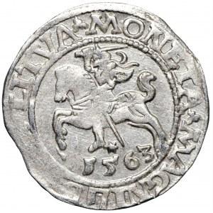 Zygmunt August, półgrosz 1563 LITVA/L Wilno