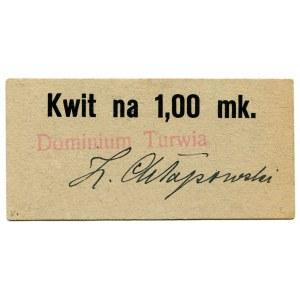 Dominium Turwia kwit na 1 markę Chłapowski