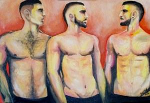 José Angel Hill, Three boys