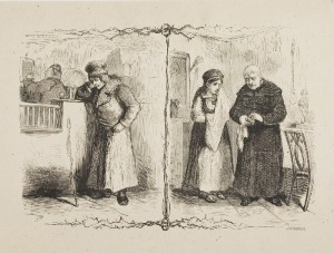 Franciszek KOSTRZEWSKI (1826 - 1911) - według, Scenka we wnetrzu