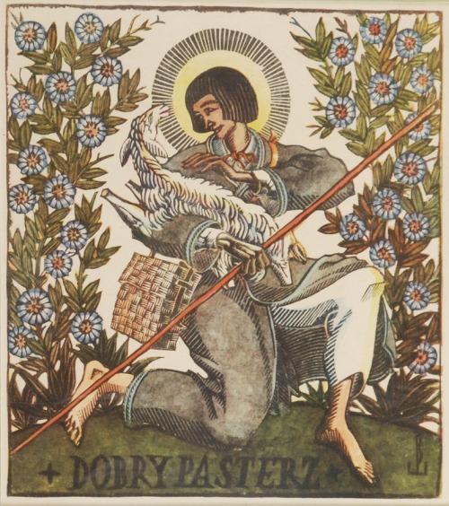 Edmund BARTŁOMIEJCZYK (1885-1950), Dobry pasterz