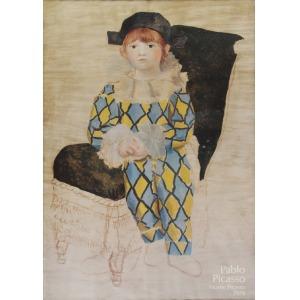 Pierot - plakat z  Muzeum Pablo Picasso w Paryżu