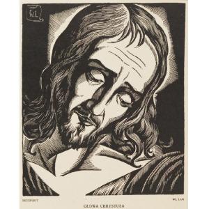Władysław LAM (1893-1984), Głowa Chrystusa, 1923