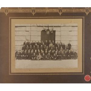 Marek MUNZ ( 1872-1937), Rada Miasta Lwowa? - Zdjęcie grupowe