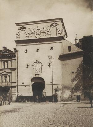 Jan BUŁHAK (1876-1950), Ostra Brama w Wilnie, ok. 1930