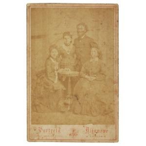 Awit SZUBERT (1837-1919), Portret rodzinny, ok. 1880