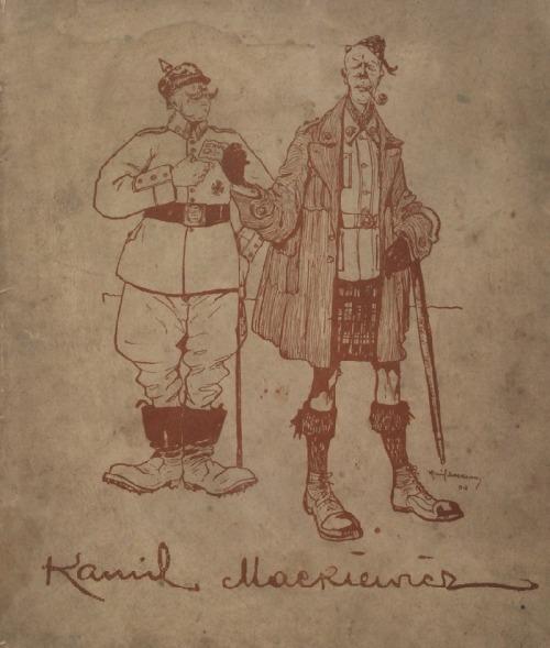 Kamil MACKIEWICZ (1885-1931), Czyściec niemiecki - Moje przeżycia w obozie jeńców z przedmową St. Dzikowskiego, 1918
