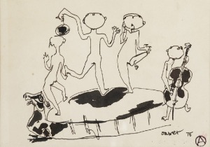 Otto AXER (1906 - 1983), Kwartet, 1976