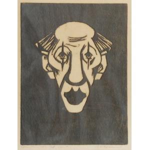 Ekelund Axel Werner (1919 - 1989), Klown, 1952