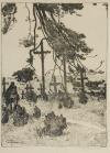 Stanisław JANOWSKI (1866-1942), Cmentarz polowy w Wołczesku, 1934