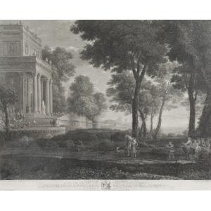 Widok na park z pałacem