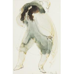 """Ingrid SCHAAR (XX w.), Postać z opery Paula Hindemitha """"Cardillac"""", 1979"""