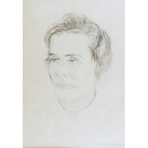 Tadeusz WAŚKOWSKI (1883-1966), Portret kobiety - Marii Jaremy?